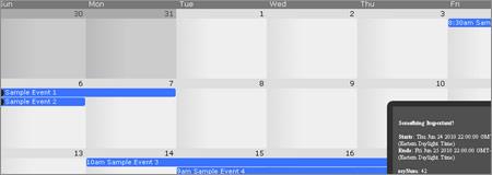 Googleカレンダー風のjQueryで実装する