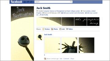 facebookプロフィールページデザイン集35個|3、25、33が面白いなぁ