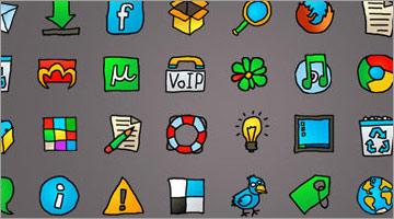 webデザイナー、web開発者のための無料アイコン2000