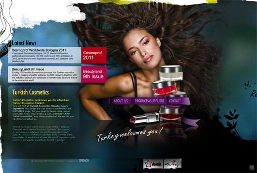 大き目の背景画像を利用したwebデザイン4