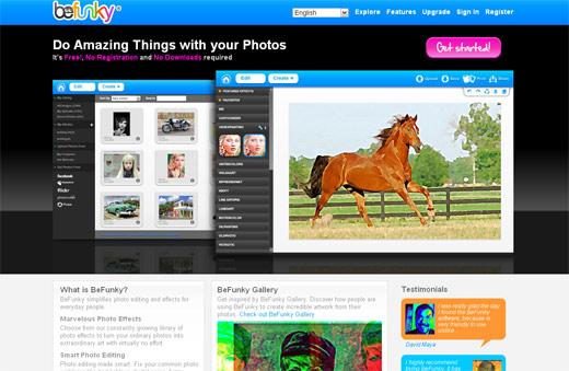 webアプリケーションサイトのインターフェイス2