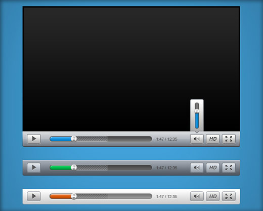 Sleek Video Player