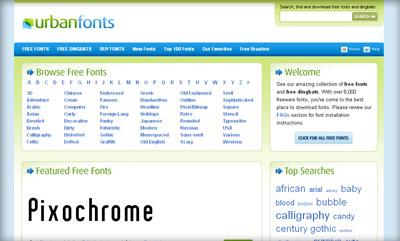 Free Fonts - Cool Fonts