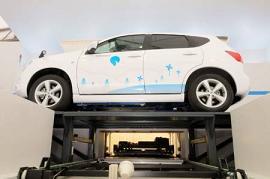 ベタープレイス社が提案するバッテリー交換ステーション