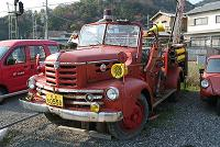 戦後復興期頃のTX消防車