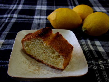 挑戦!レモンのパウンドケーキ