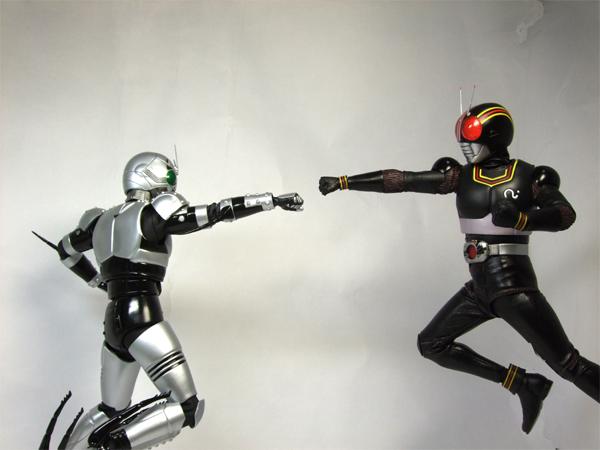 ライダーパンチ VS シャドーパンチ