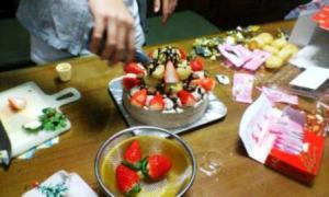 クリスマスケーキ'08-2