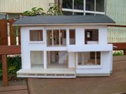 凛の家モデルハウス模型