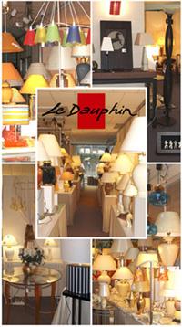照明器具のLe Dauphin社