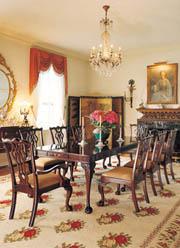様式家具のある暮らし