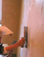 能登珪藻土壁塗り体験会