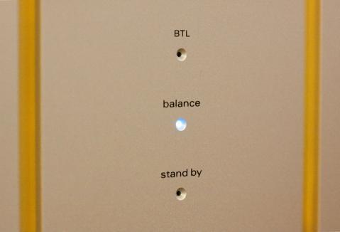 パワーアンプ M600A イルミネーション balance