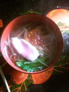 三日の雑煮 東北風