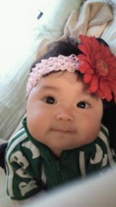 綾子さんの姪っ子の雫ちゃん