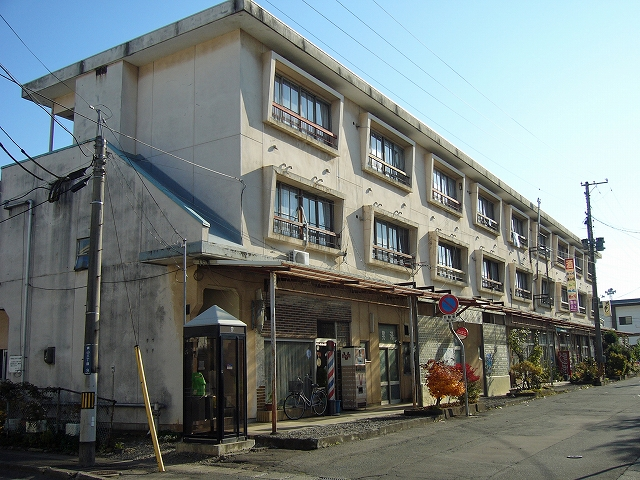 青山の市営アパート