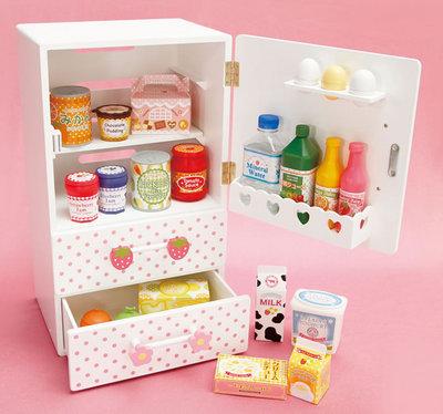 マザーグースの森 マザーガーデン 木製玩具 チルド冷蔵庫