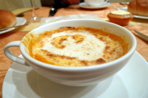 伊勢海老のスープ♪