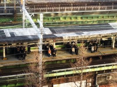 有楽町駅の模様