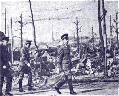 昭和天皇の東京大空襲巡幸