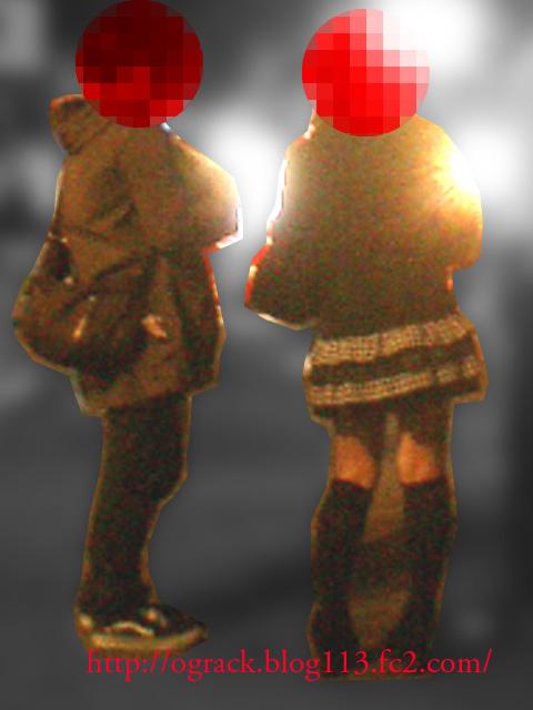 (ナンパ画像) 桜祭りにて逆3