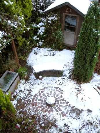 プライベートガーデン・雪景色