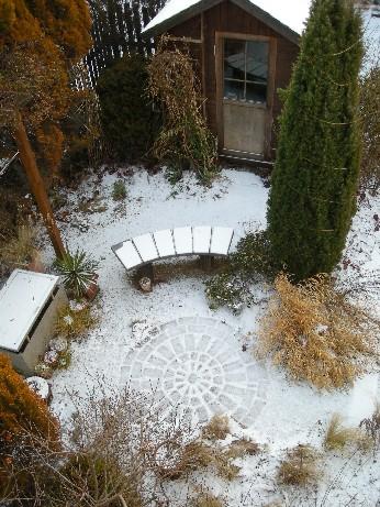 雪シェッド