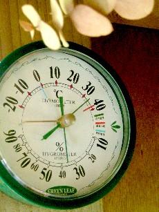 最高最低温度計