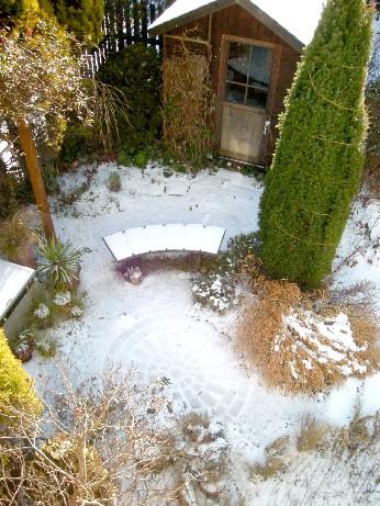 薄っすらと雪が被って…
