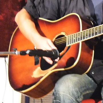 武(KTAKE)先生のギター