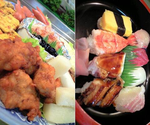 ひょうたん寿司の御馳走