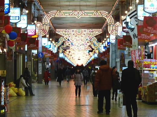 姫路『みゆき通り』商店街の『ヒメナリエ』