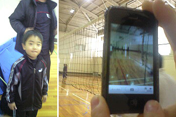 TANちゃん家の悠人君と コメットちゃんのiPhone