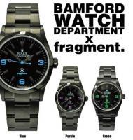 BAMFORD WATCH DEPARTMENT x フラグメントデザイン