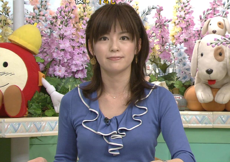 中野美奈子 ぴったりとした服キャプ画像(エロ・アイコラ画像)