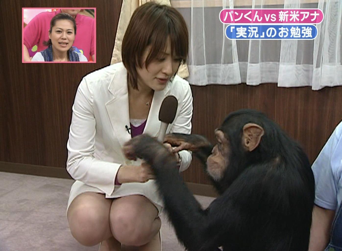 小熊美香 ミニスカ美脚キャプ画像(エロ・アイコラ画像)