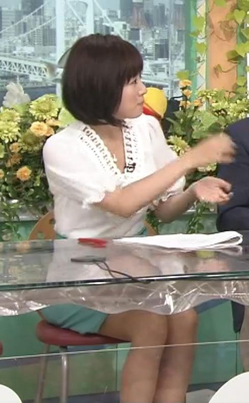 高島彩 ミニスカートキャプ・エロ画像3