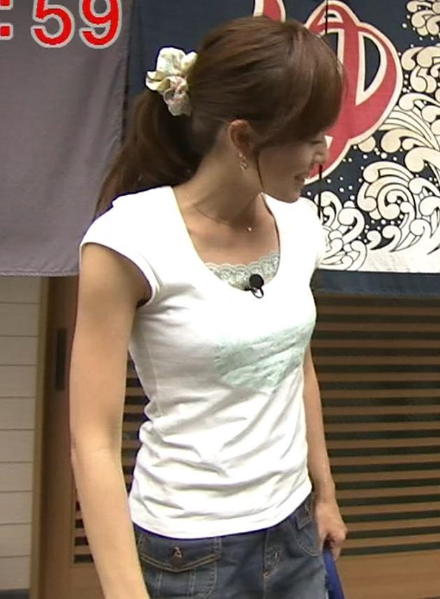 谷上奈津美 胸のふくらみがエロいキャプ画像(エロ・アイコラ画像)