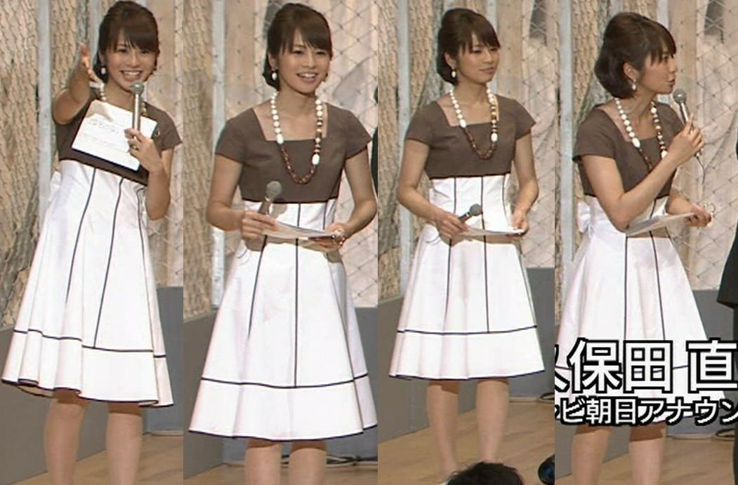 久保田直子 かわいいワンピースキャプ画像(エロ・アイコラ画像)