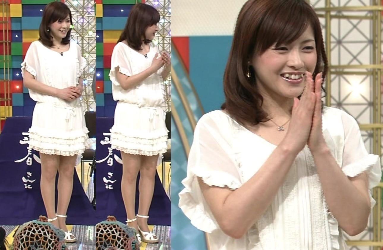 杉崎美香 かわいいミニスカートキャプ画像(エロ・アイコラ画像)