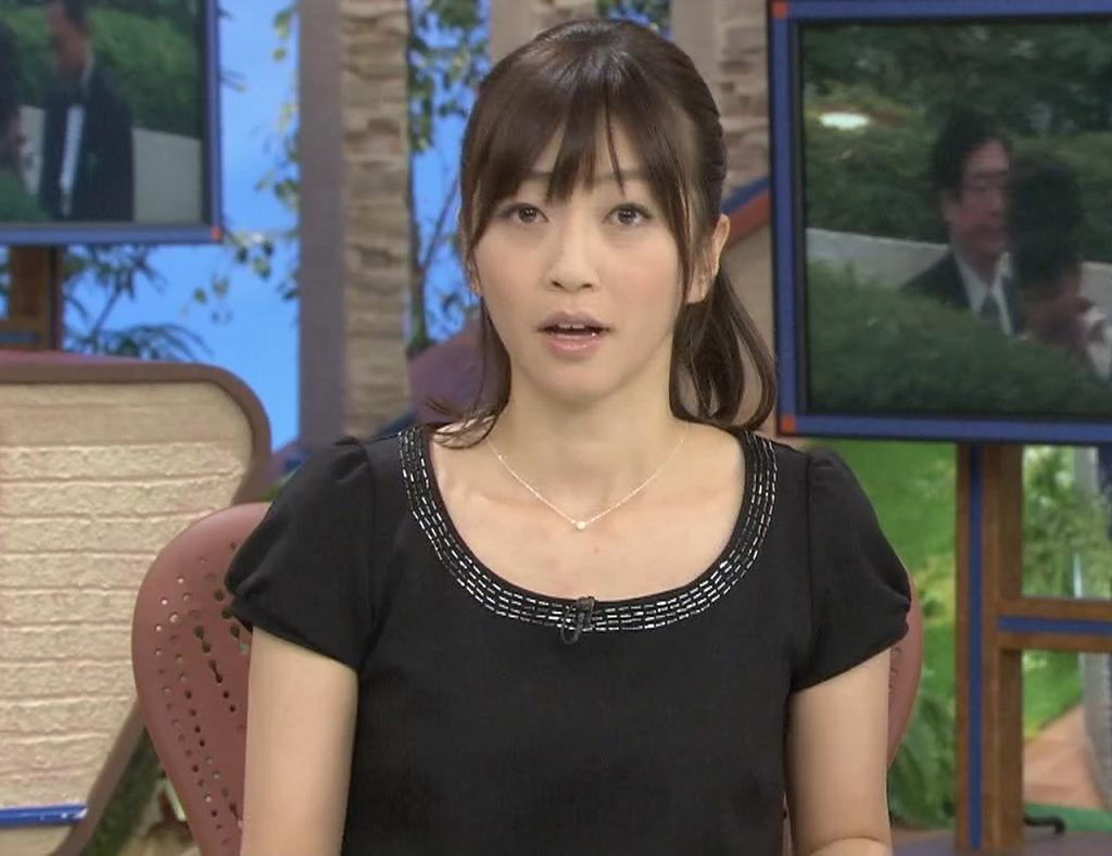 久保田智子 黒い服(特にエロい画像ではないです)キャプ画像(エロ・アイコラ画像)
