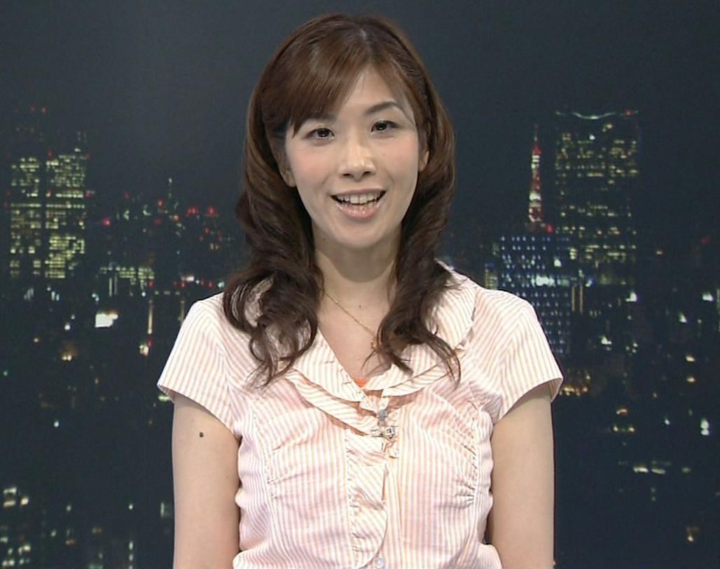 半井小絵 巨乳天気予報士キャプ画像(エロ・アイコラ画像)