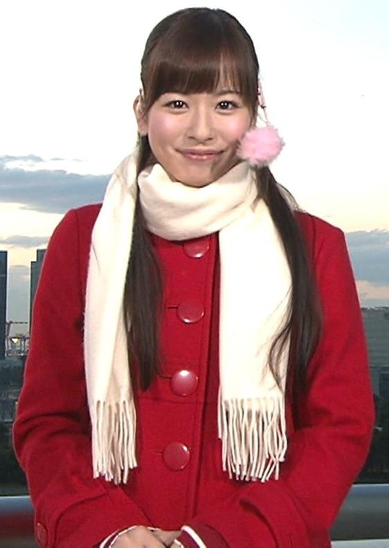 皆藤愛子 めざましテレビ12/24画像
