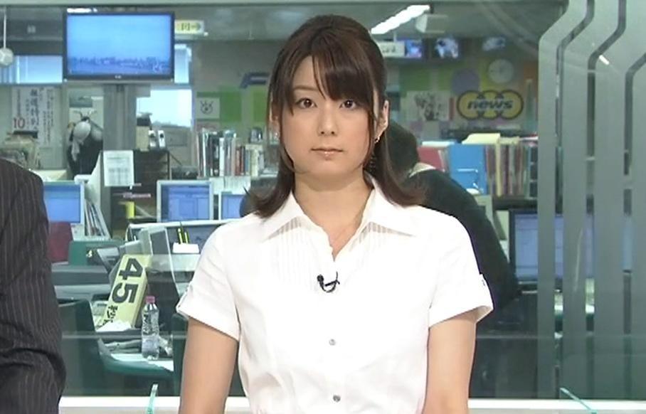 秋元優里 ニュースピークのキャスターキャプ画像(エロ・アイコラ画像)