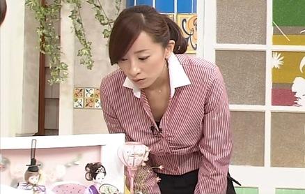 西尾由佳理 前かがみ画像多数 ズームイン2/25キャプ画像(エロ・アイコラ画像)