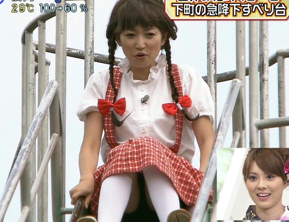 岸本梓 少女コスプレで大胆パンチラ!キャプ画像(エロ・アイコラ画像)