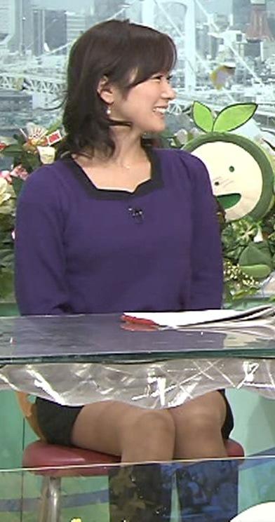 高島彩 ミニスカートキャプ画像(エロ・アイコラ画像)