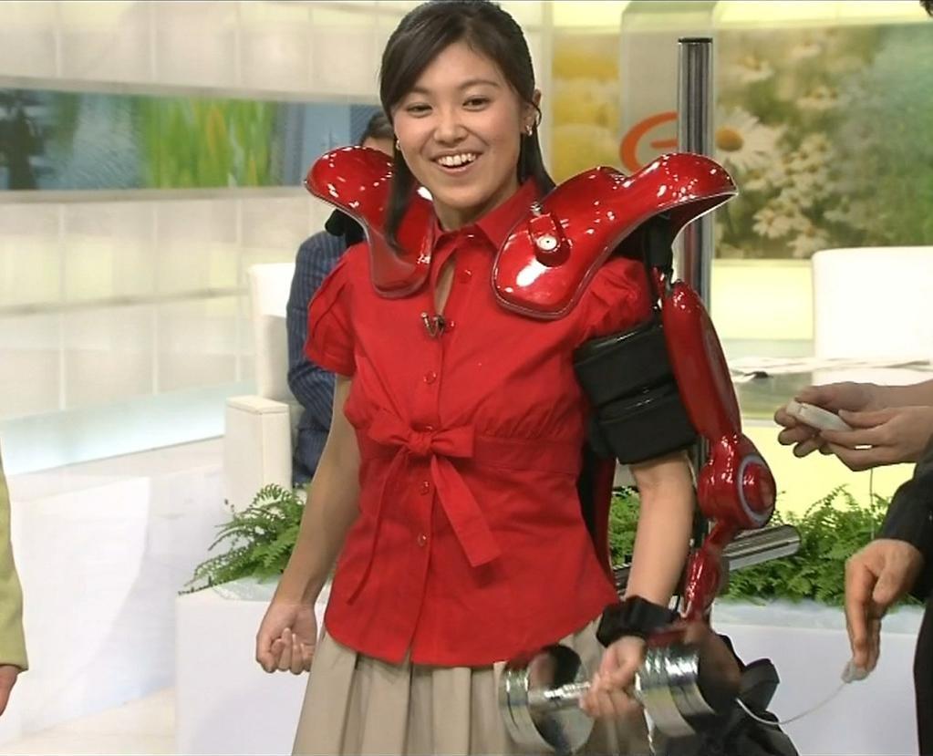 小林千恵 ロボットアナウンサーキャプ画像(エロ・アイコラ画像)