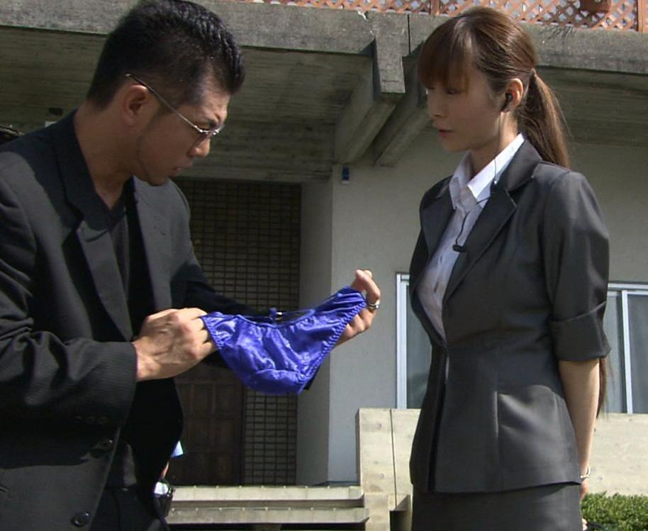 中山恵 パンツをムリヤリはかされる (メイド刑事より)キャプ画像(エロ・アイコラ画像)