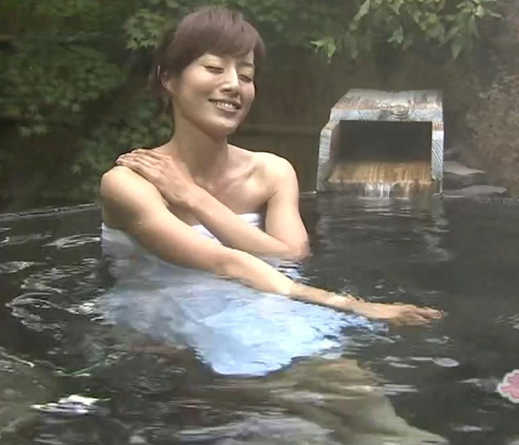 谷上奈津美 普通の温泉レポートキャプ画像(エロ・アイコラ画像)